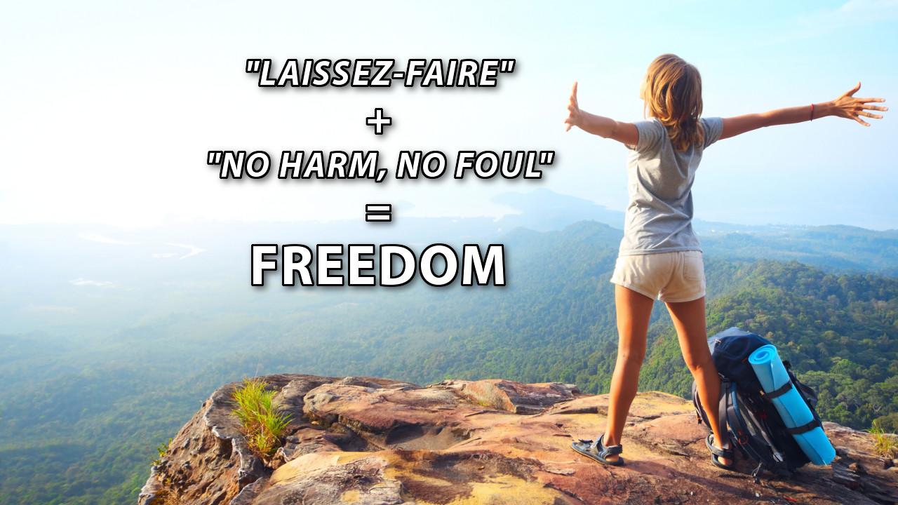 Freedom's Simple Formula